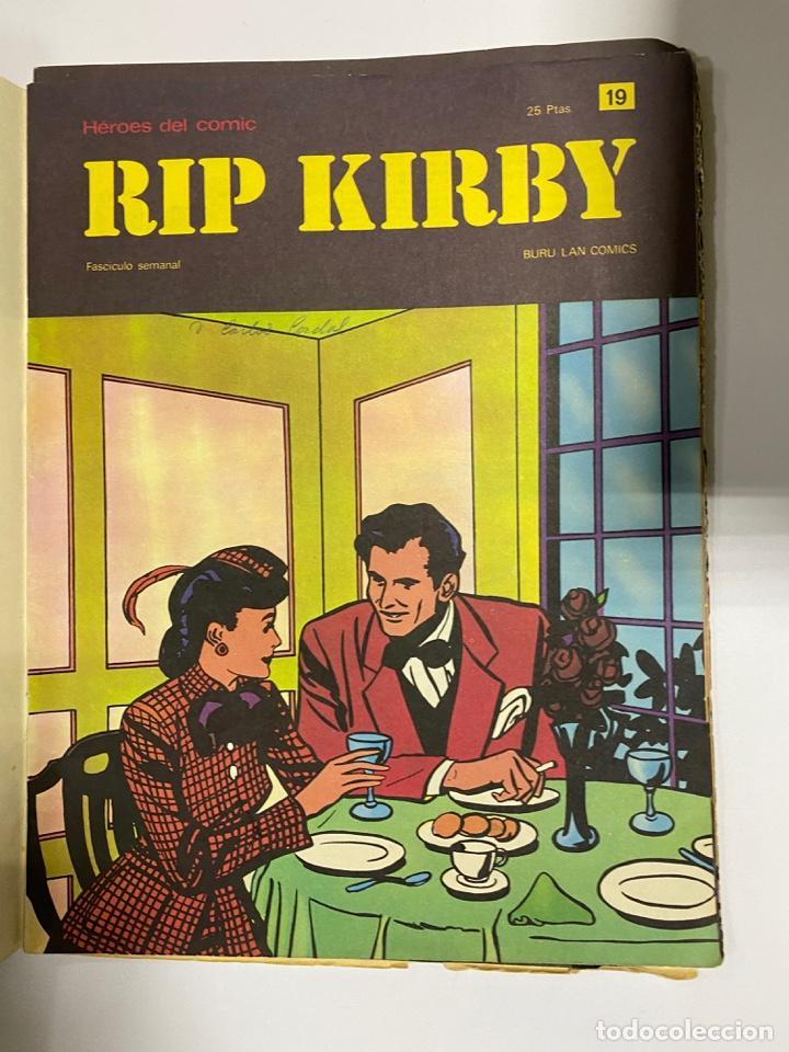 Cómics: RIP KIRBY. BURU LAN COMICS. SOLO LAS PORTADAS. TOMO 2. FASCÍCULOS DEL Nº 13 AL 24. VER FOTOS - Foto 7 - 242087265