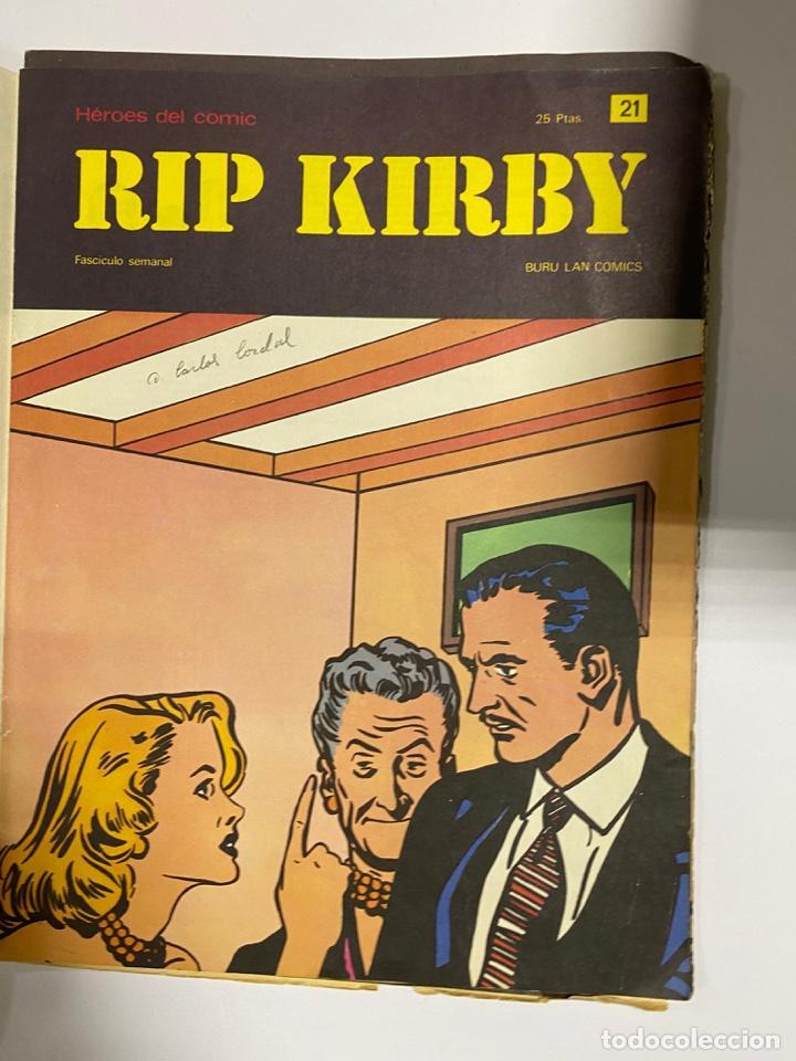 Cómics: RIP KIRBY. BURU LAN COMICS. SOLO LAS PORTADAS. TOMO 2. FASCÍCULOS DEL Nº 13 AL 24. VER FOTOS - Foto 9 - 242087265