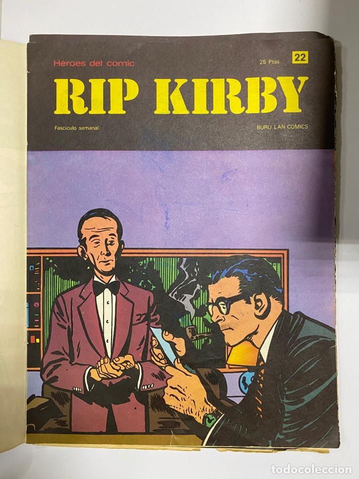 Cómics: RIP KIRBY. BURU LAN COMICS. SOLO LAS PORTADAS. TOMO 2. FASCÍCULOS DEL Nº 13 AL 24. VER FOTOS - Foto 10 - 242087265