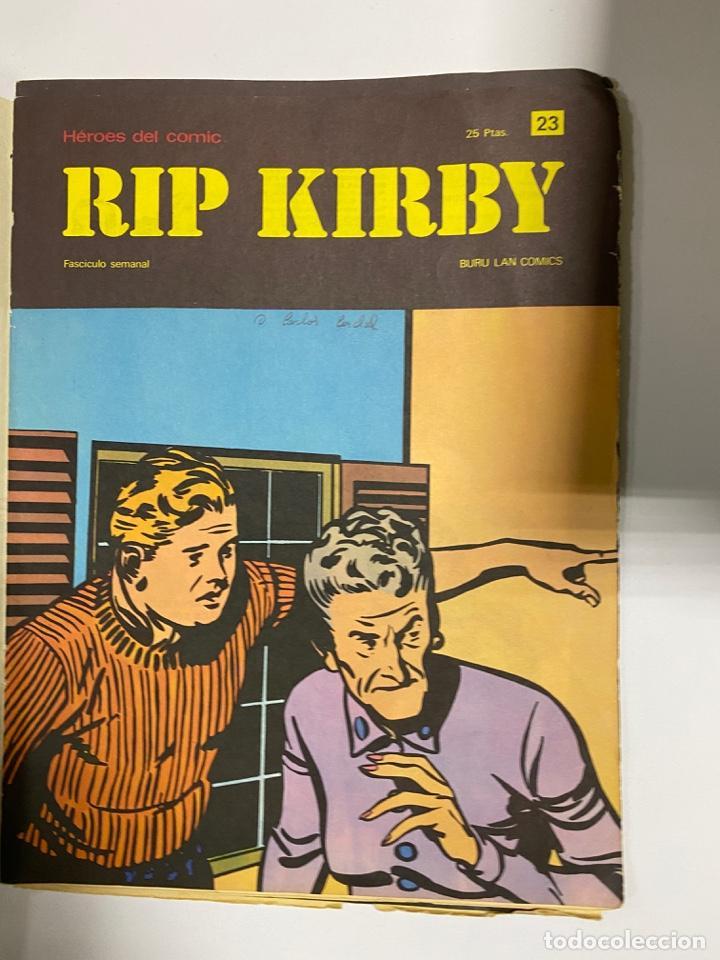 Cómics: RIP KIRBY. BURU LAN COMICS. SOLO LAS PORTADAS. TOMO 2. FASCÍCULOS DEL Nº 13 AL 24. VER FOTOS - Foto 11 - 242087265