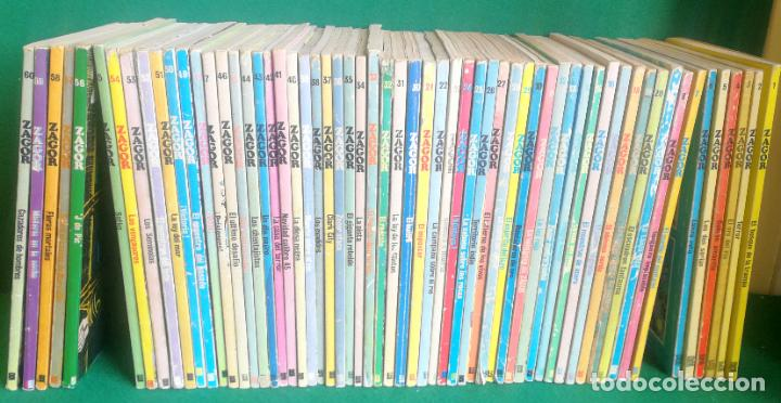 LOTE ZAGOR - BURU LAN - 60 LIBROS - NÚMEROS CONSECUTIVOS DEL 1 AL 60 - BUENOS (Tebeos y Comics - Buru-Lan - Zagor)