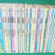 Comics : LOTE ZAGOR - BURU LAN - 60 LIBROS - NÚMEROS CONSECUTIVOS DEL 1 AL 60 - BUENOS. Lote 242071070