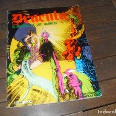 Cómics: DRACULA EL SENDERO DE LOS MUERTOS BURU LAN COMICS. EPISODIOS COMPLETOS. 1974. Lote 242194700