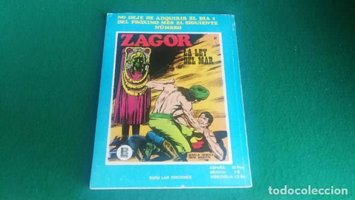 Cómics: ZAGOR - BURU LAN - Nº 50 - EXCELENTE ESTADO - Foto 2 - 242249440