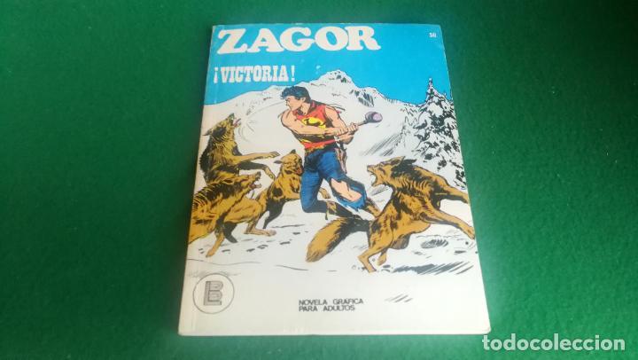 ZAGOR - BURU LAN - Nº 50 - EXCELENTE ESTADO (Tebeos y Comics - Buru-Lan - Zagor)