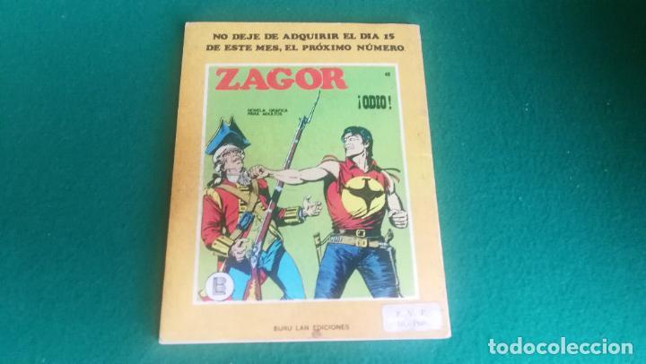 Cómics: ZAGOR - BURU LAN - Nº 47 - BUEN ESTADO - Foto 2 - 242251390
