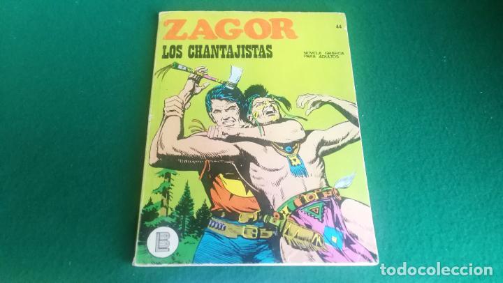 ZAGOR - BURU LAN - Nº 44 - BUEN ESTADO (Tebeos y Comics - Buru-Lan - Zagor)