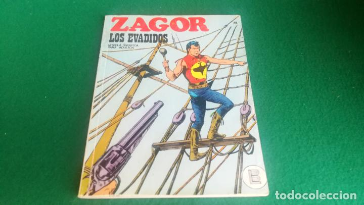 ZAGOR - BURU LAN - Nº 38 - BUEN ESTADO (Tebeos y Comics - Buru-Lan - Zagor)
