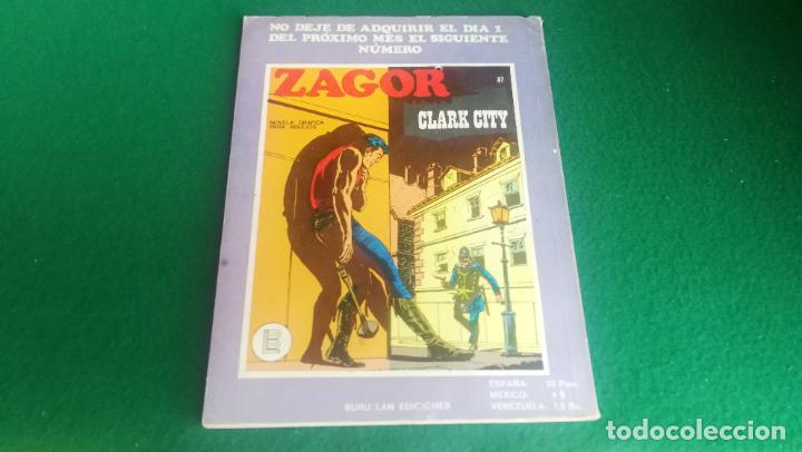 Cómics: ZAGOR - BURU LAN - Nº 36 - MUY BUEN ESTADO - Foto 2 - 242365380