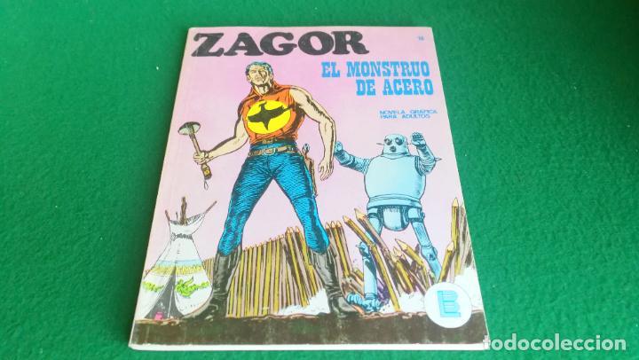 ZAGOR - BURU LAN - Nº 16 - BUENÍSIMO ESTADO (Tebeos y Comics - Buru-Lan - Zagor)
