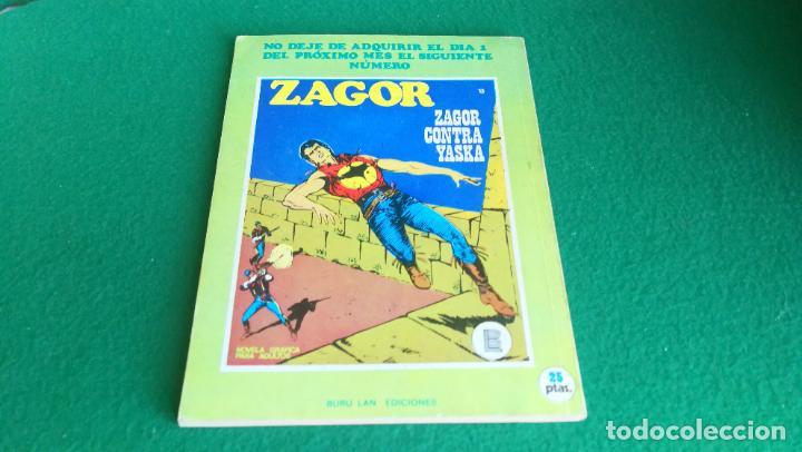 Cómics: ZAGOR - BURU LAN - Nº 12 - BUEN ESTADO - Foto 2 - 242391845