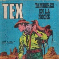 Cómics: TEX Nº 4: TAMBORES EN LA NOCHE. Lote 243019775