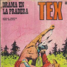 Cómics: TEX Nº 50: DRAMA EN LA PRADERA. Lote 243023190