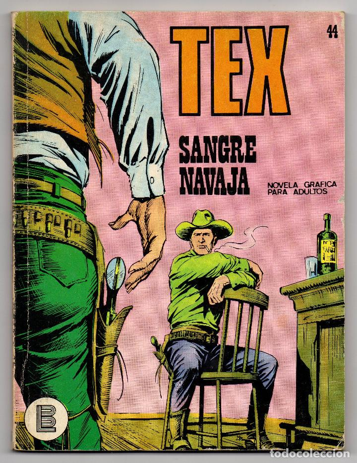 Cómics: TEX nº 44, 46, 49, 51, 54, 56, 57, 60, 61, 65 y 69 (Buru-Lan 1972/73) 11 novelas. - Foto 2 - 243128705