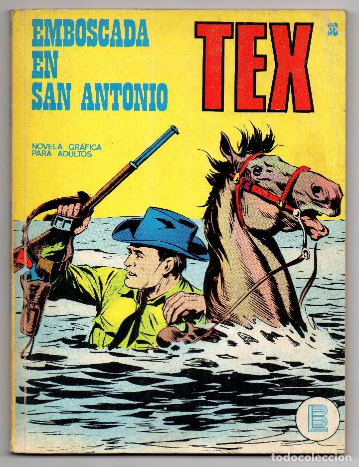 TEX Nº 36 (BURU-LAN 1972) (Tebeos y Comics - Buru-Lan - Tex)