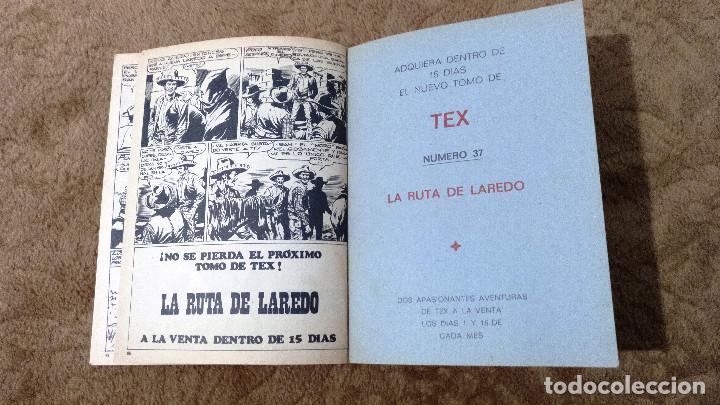Cómics: TEX nº 36 (Buru-Lan 1972) - Foto 3 - 243129650