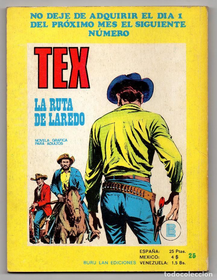 Cómics: TEX nº 36 (Buru-Lan 1972) - Foto 4 - 243129650