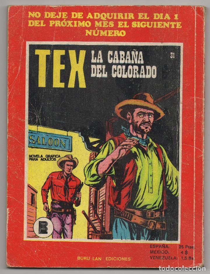 Cómics: TEX nº 30 (Buru-Lan 1972) - Foto 3 - 243129825