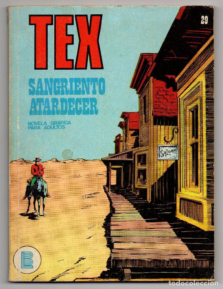 TEX Nº 29 (BURU-LAN 1972) (Tebeos y Comics - Buru-Lan - Tex)