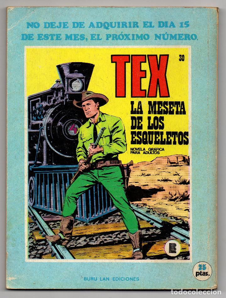 Cómics: TEX nº 29 (Buru-Lan 1972) - Foto 3 - 243130060