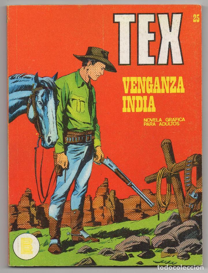 TEX Nº 25 (BURU-LAN 1971) (Tebeos y Comics - Buru-Lan - Tex)