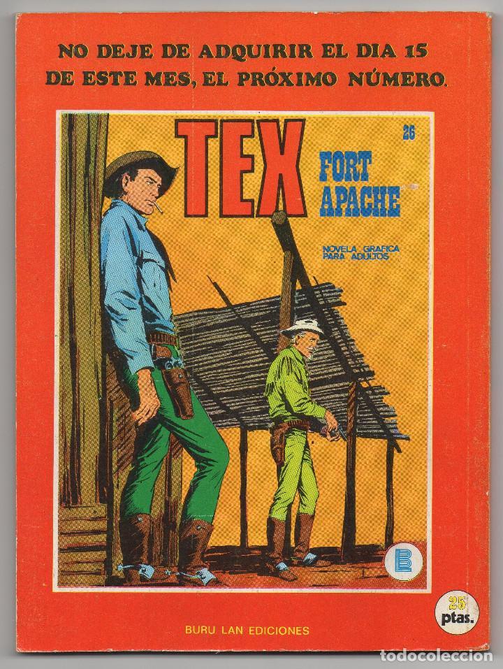 Cómics: TEX nº 25 (Buru-Lan 1971) - Foto 3 - 243130265