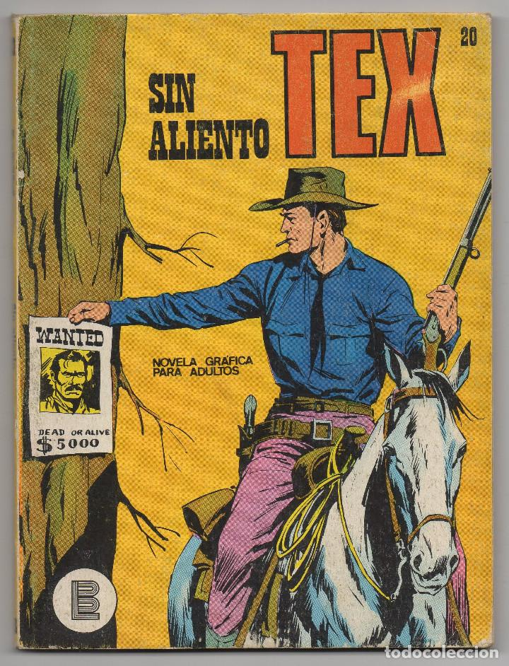 TEX Nº 20 (BURU-LAN 1971) (Tebeos y Comics - Buru-Lan - Tex)