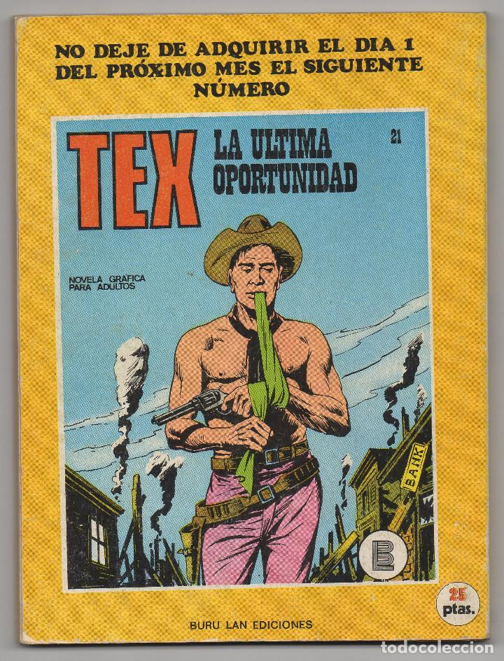 Cómics: TEX nº 20 (Buru-Lan 1971) - Foto 3 - 243130570
