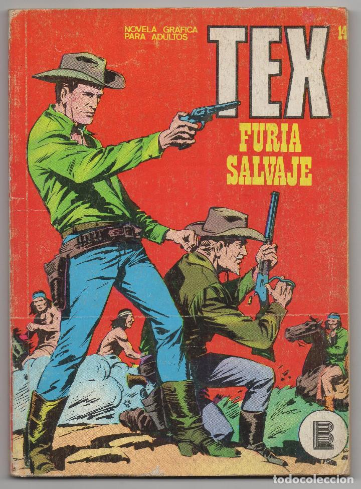 TEX Nº 14 (BURU-LAN 1971) (Tebeos y Comics - Buru-Lan - Tex)