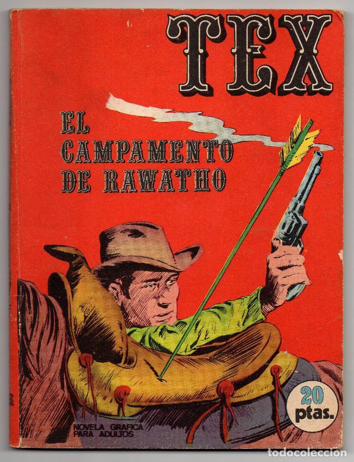 TEX Nº 8 (BURU-LAN 1970) (Tebeos y Comics - Buru-Lan - Tex)