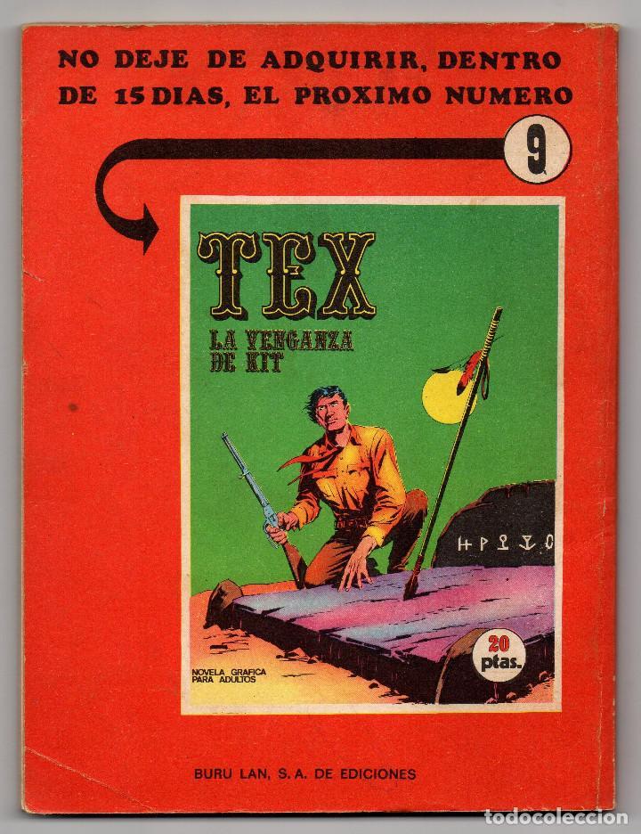 Cómics: TEX nº 8 (Buru-Lan 1970) - Foto 4 - 243131705