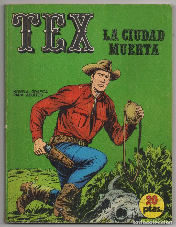 TEX Nº 5 (BURU-LAN 1970) (Tebeos y Comics - Buru-Lan - Tex)