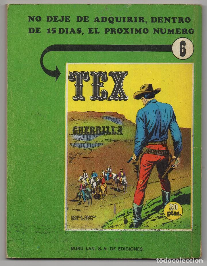Cómics: TEX nº 5 (Buru-Lan 1970) - Foto 3 - 243131860