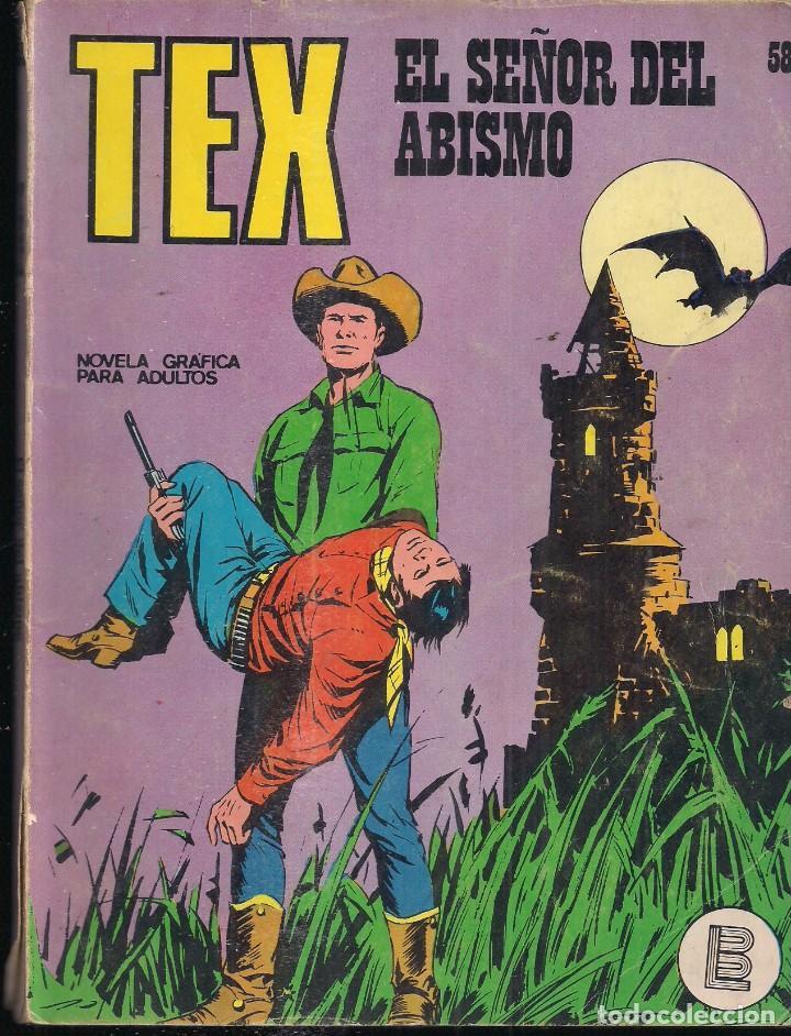 TEX Nº 58: EL SEÑOR DEL ABISMO (Tebeos y Comics - Buru-Lan - Tex)