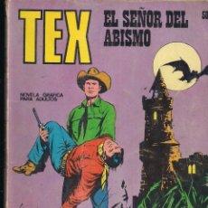 Cómics: TEX Nº 58: EL SEÑOR DEL ABISMO. Lote 243155835