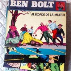 Cómics: BEN BOLT 6 TOMOS Nº 2-3-5-6-7-8 BURU LAN. Lote 243645275
