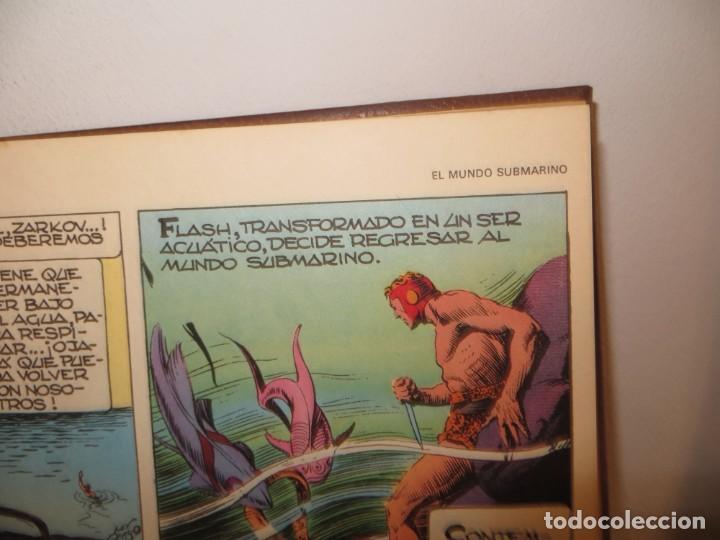 Cómics: FLASH GORDON BURU LAN, 2 TOMOS 200 HOJAS Y OTRO 240 1971,REGALADO - Foto 5 - 244192885
