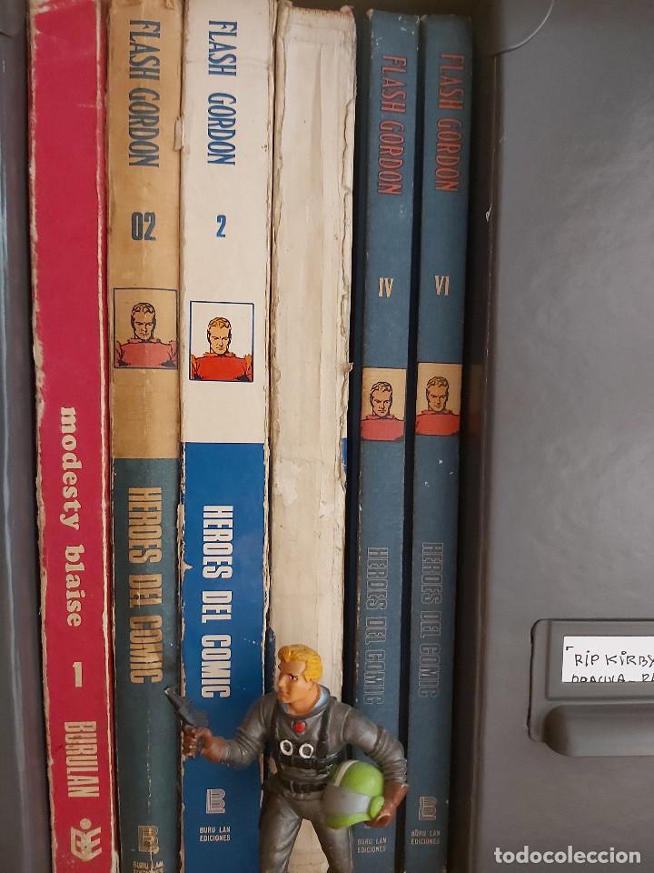Cómics: * FLASH GORDON * TOMO VI * HEROES DEL COMIC * SURCANDO EL ESPACIO * EDICIONES BURULAN 1972 * - Foto 12 - 206116542