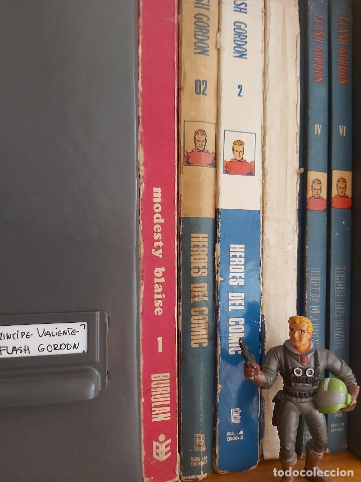 Cómics: * FLASH GORDON * HEROES DEL COMIC * EDICIONES BURULAN 1971 * LOTE FASCICULOS 12 Nº OFERTA * - Foto 21 - 206126503