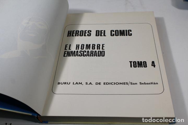 Cómics: EL HOMBRE ENMASCARADO TOMO Nº4. BURULAN AÑOS 70 - Foto 8 - 244635970