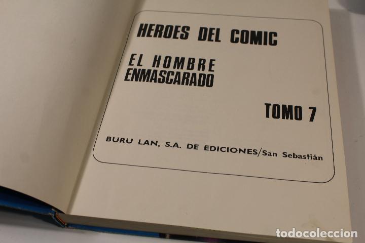 Cómics: EL HOMBRE ENMASCARADO TOMO Nº7. BURULAN AÑOS 70 - Foto 2 - 244636135