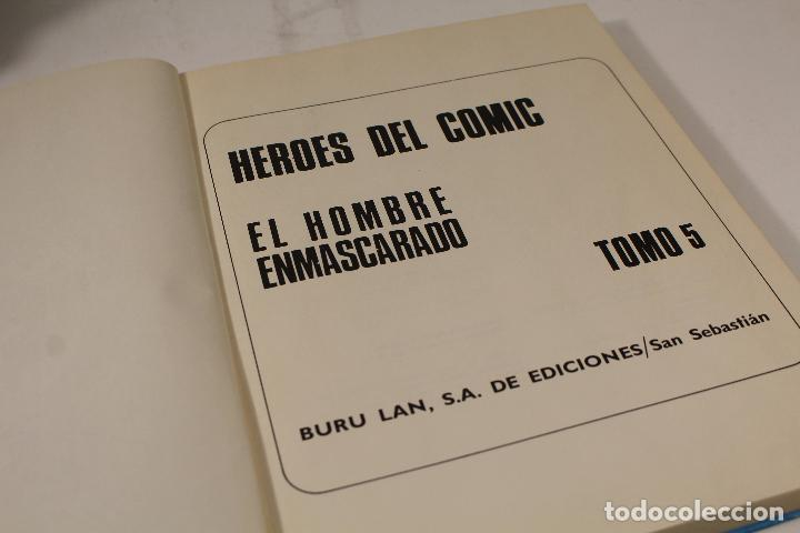 Cómics: EL HOMBRE ENMASCARADO TOMO Nº5. BURULAN AÑOS 70 - Foto 7 - 244636360