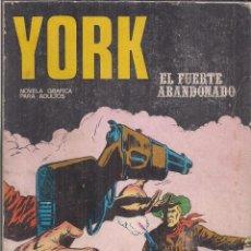 Cómics: YORK Nº 5: EL FUERTE ABANDONADO. Lote 244712190