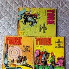 Cómics: YORK COLECCIÓN COMPLETA 6 NÚMEROS BURU-LAN DIFÍCIL. Lote 244728655