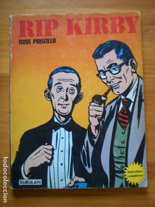 RIP KIRBY - MISS PRISCILLA - BURULAN (B1) (Tebeos y Comics - Buru-Lan - Rip Kirby)