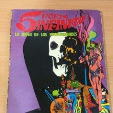 Cómics: CÓMIC 5 POR INFINITO - LA DIOSA DE LAS PROFUNDIDADES. BURU LAN EDICIONES, 1974. Lote 245735910