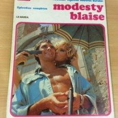 Cómics: CÓMIC COLECCIÓN AGENTES SECRETOS - MODESTY BLAISE EN LA BARRA. BURU LAN, 1974. Lote 245736445
