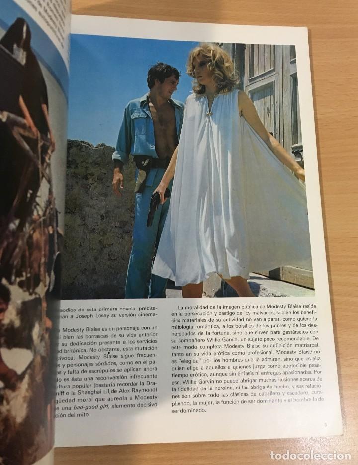 Cómics: CÓMIC COLECCIÓN AGENTES SECRETOS - MODESTY BLAISE EN LA BARRA. BURU LAN, 1974 - Foto 3 - 245736445
