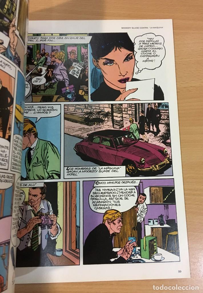 Cómics: CÓMIC COLECCIÓN AGENTES SECRETOS - MODESTY BLAISE EN LA BARRA. BURU LAN, 1974 - Foto 4 - 245736445