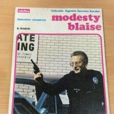 Cómics: CÓMIC COLECCIÓN AGENTES SECRETOS - MODESTY BLAISE EN EL TRAIDOR. BURU LAN, 1974. Lote 245736795